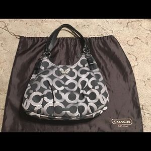 Coach Purse with Protected Cover!!!